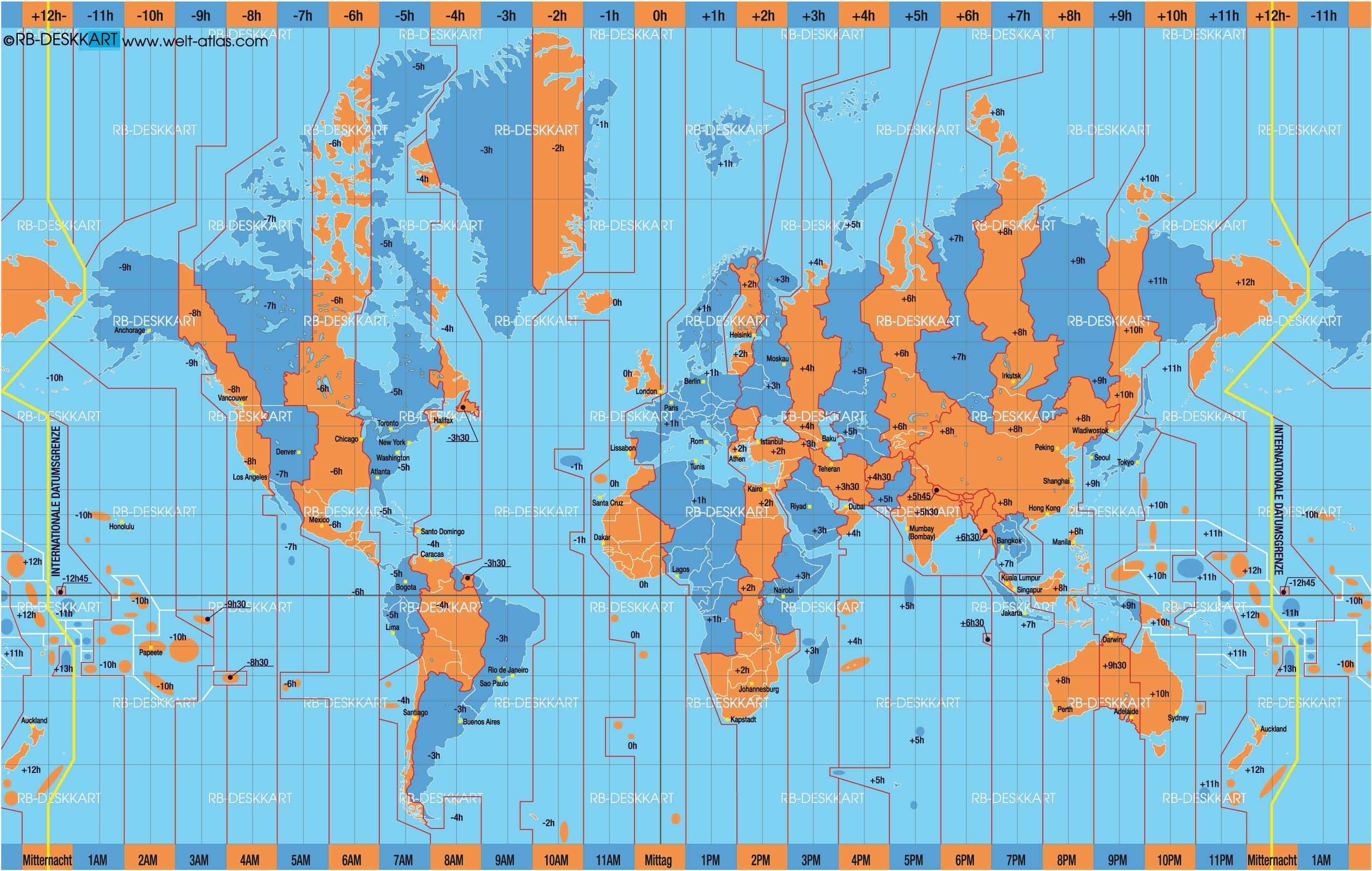 Carte Du Monde En Temps Réel | casamagenta